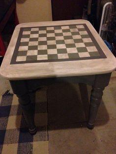 Checkerboard Table                                                       …