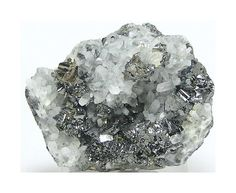 Tetrahedrite Pyrite on Sphalerite with Quartz by FenderMinerals,