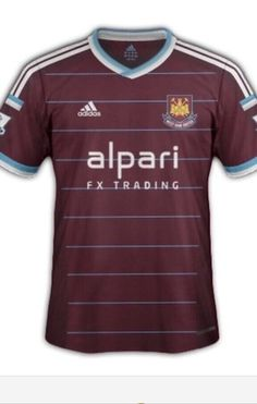 Musings from my garage  LEAKED PICTURE OF NEW HOME KIT REVEALS RETRO LOOK.  Keith D Souza · West Ham b4668d987