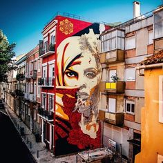 New amazing collab between @vhils and @obeygiant in Lisbon, Portugal • #Obey exhibition opens today at @underdogs_gallery! If you happen to be in Lisbon, go for us! • Picture by the master @jonathanfurlong