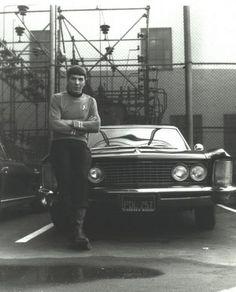 Spock's hot rod.
