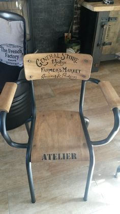 Relooking Ateliers Deco Conseils Personnalises La Fabrik De Sandrine Chaise Ecole Mobilier De Salon Relooker