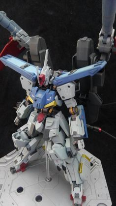Insertado Custom Gundam, Gunpla Custom, Gundam Tutorial, Lego Mecha, Gundam Art, Robot Design, Gundam Model, Mobile Suit, Art Pictures