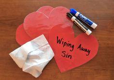 Wiping Sin Away Prayer Activity – Deeper KidMin