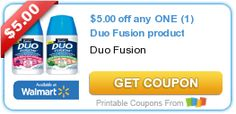 Tri Cities On A Dime: SAVE $5.00 ON ANY DUO FUSION PRODUCT