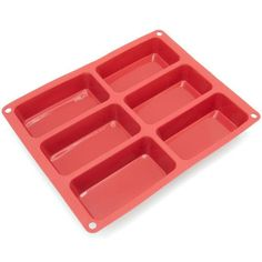 6-Cavity Mini Silicone Mold for Soap Free Shipping