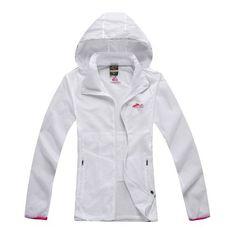 Women's Sports Wear Jacket Windbreaker Shell-Sun