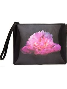 Christopher Kane Lenticular Blooming Peony Clutch - Browns - Farfetch.com #accessories #clutchbag #clutch #handbag #bag