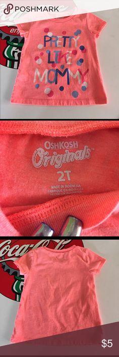 OshKosh Tee Gently worn, no stains. Size 2T Osh Kosh Shirts & Tops Tees - Short Sleeve