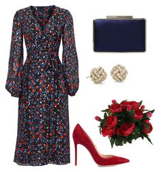 A fashion look from August 2017 featuring Cynthia Rowley dresses, Gianvito Rossi pumps and L. Browse and shop related looks. Church Dresses, Church Outfits, Classy Outfits, Cool Outfits, Modest Fashion, Fashion Dresses, Polyvore Dress, Church Fashion, Looks Chic