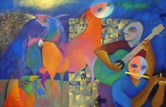 Chichorro - agenda.barcelos.pt Kandinsky, African, Drawings, Illustration, Artist, Portugal, Painting, High School, Pop