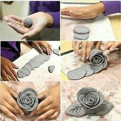 Most current Totally Free cool Ceramics vase Concepts Entdecken Sie Kunst Inspiration, Ideen, Stile – modeliermasse – Ceramic Pottery, Pottery Art, Ceramic Art, Ceramic Flowers, Clay Flowers, Art Flowers, Clay Wall Art, Clay Art Projects, Ceramics Projects