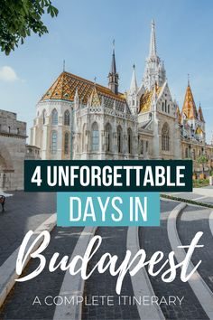 Budapest is absolutely one of the most underrated and stunning cities in Europe. Here's how to make the most of your 4 days in Budapest. Best Cities In Europe, Road Trip Europe, Europe Travel Tips, European Travel, Places To Travel, Travel Guides, Budapest Travel Guide, Backpack Through Europe, Hungary Travel