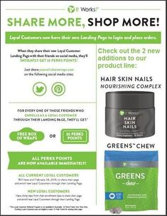Who doesn't want thick healthy hair, glowing skin, and long strong nails?  Ask me how or visit dontyoulove.myitworks.com to become a loyal customer today. #loyal #loyalcustomer #hair #skin #nails  #supplement #healthyliving #healthylifestyle #itworks #longhairdontcare #tellallyourfriends