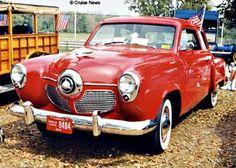 1950 Red Studebaker