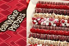 Yumm! Chocolate covered pretzels! Save 25% off your order!