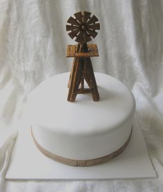 Windmill Cake Topper