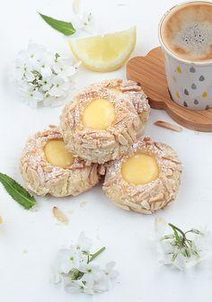 Délices d'Orient: Biscuits empreintes au lemon curd