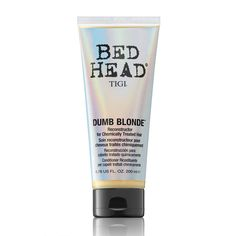 TIGI Bed Head Dumb Blonde Reconstructor for Chemically Treated Hair 200ml - Feelunique