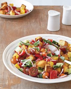 Cornbread Panzanella from Katie Lee's Endless Summer - Southern Lady Magazine