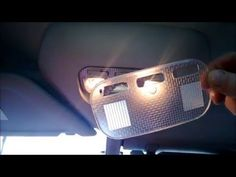 How to Change Replacement INTERIOR Bulbs on LED. Citroen C4 Grand Picasso. Подсветка Салона - YouTube