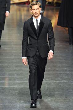 Dolce & Gabbana Fall 2012 Menswear Collection