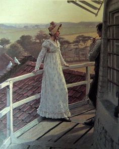 Edmund Blair Leighton (1853 – 1922) was an historical genre painter who is best known for paintings of regency and medieval times. The paintings are sentimental, but are still extremely popular as posters and prints.