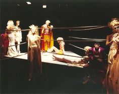 Original Adel Rootstein Gruppenphoto Pressefoto Foto Schaufensterpuppe Mannequin