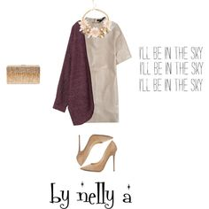 Look 203 by ada-nelli on Polyvore featuring мода, Joseph, Monki, Jimmy Choo and Dsquared2