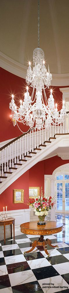Over 20 years, specializing in high-end residential interior design projects. Committed to provide a personalized service that results in elegant, refined, and timeless living spaces. Glass Chandelier, Chandelier Lighting, Crystal Chandeliers, Southern Style, Southern Charm, Luxury Homes, Luxury Mansions, Luxury Interior, Interior Design
