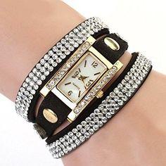 BESSKY Womens White Dial Quartz Watch