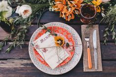 Flowers by Caterina Maurini. Photo by Sara D'Ambra (via Green Wedding Shoes). Rustic Italian Wedding, Wedding Table, Our Wedding, Mediterranean Wedding, Thanksgiving Tablescapes, Wedding Decorations, Table Decorations, Italy Wedding, Green Wedding Shoes