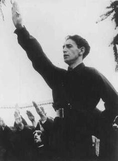 Horia Sima,the leader of Iron Guard after Codreanu was murdered in 1938