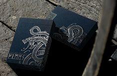 Ragnarok Playing Cards by Design Imperator — Kickstarter Resume Design, Logo Design, Graphic Design, Unique Playing Cards, Custom Decks, Handmade Books, Ex Libris, Logo Branding, Logos