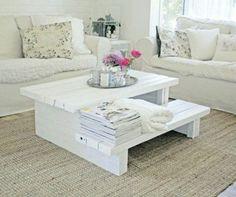 Construire table basse palette – récup et déco simpa - jolie-table-basse-palette-petite