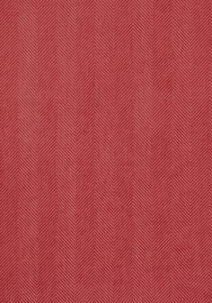Hillside Herringbone #fabric in #strawberry from the Woven Resource 5 collection. #Thibaut