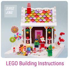 Super*Junk on Gumroad Lego Christmas, Lego Design, Lego Instructions, Lego Building, Legos, Fun, Lego, Lol, Funny