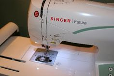 Tutorials: Machine Embroidery 101 - it's even a Singer Futura!