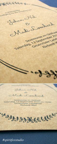 #spiritfoxstudio #graphicdesign #wedding #stationery #invitation #craftboard #wreath