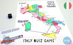 Italy Quiz Game | Italy | Around the World in 80 Days | Moomookachoo