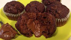 Muffin cuor di Nutella   CUPCAKES IN LAW