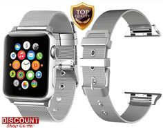 For Apple Watch Strap Band 38mm Series 1 2 3 Stainless Steel Buckle Bracelet New #ForAppleWatchStrapBand