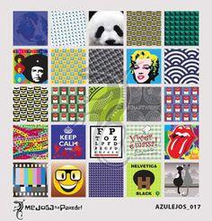 Azulejos Adesivos Decora nº 017 www.mejoganaparede.com.br
