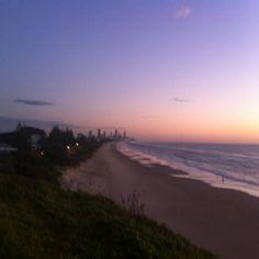 Beautiful sunrise on the perfect morning