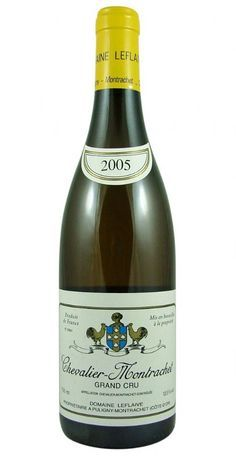 Chevalier-Montrachet Grand Cru 2005 Leflaive from Burgundy Wine Cellar. Biodynamic. Grower takes into account moon cycles and planetary positions.
