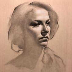 classical figure drawing and the contemporary realism of hedwardbrooks: Head Studies. Portrait Sketches, Pencil Portrait, Art Drawings Sketches, Portrait Art, Life Drawing, Figure Drawing, Painting & Drawing, Charcoal Portraits, Charcoal Art