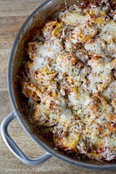 Italian Sausage and Tortellini Skillet  is about to become a staple in your home.