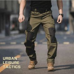 Men's Tactical Cargo Pants Tactical Pants, Tactical Clothing, Hunting Pants, Hunting Clothes, Army Clothes, Military Pants, Outdoor Pants, Selling Online, Us Army