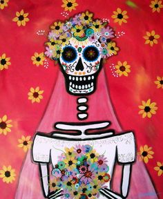 unlike other cultures, Mexican tradition sees the skull as a promise of resurrection, not death