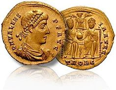 Ancient Egyptian Artifacts | gold coins of emperor valens found in egypt egypt s massive storage